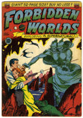 Golden Age (1938-1955):Science Fiction, Forbidden Worlds #1 (ACG, 1951) Condition: VG....