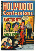 Golden Age (1938-1955):Crime, Hollywood Confessions #1 (St. John, 1949) Condition: FN-....