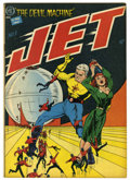 Golden Age (1938-1955):Science Fiction, Jet Powers #3 (Magazine Enterprises, 1951) Condition: VG+....