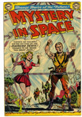 Golden Age (1938-1955):Science Fiction, Mystery in Space #9 (DC, 1952) Condition: FN....