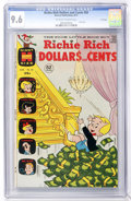 Bronze Age (1970-1979):Humor, Richie Rich Dollars and Cents #50 File Copy (Harvey, 1972) CGC NM+ 9.6 Off-white to white pages....