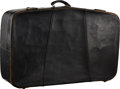 Music Memorabilia:Memorabilia, Beatles Related - John Lennon: Personal Suitcase Used from February 1964-late 1966 and Vanity Case.... (Total: 2 Items)