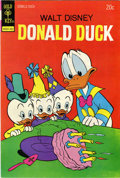 Bronze Age (1970-1979):Cartoon Character, Donald Duck #154 Signed by Carl Barks (Gold Key, 1974) Condition:VF+....
