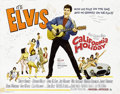 Music Memorabilia:Posters, Elvis Presley California Holiday Lobby Card Group of 8 (MGM,1966)....
