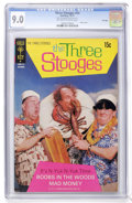 Bronze Age (1970-1979):Humor, Three Stooges #53 File Copy (Gold Key, 1971) CGC VF/NM 9.0Off-white to white pages....