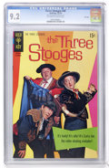 Bronze Age (1970-1979):Humor, Three Stooges #49 File Copy (Gold Key, 1970) CGC NM- 9.2 Off-whiteto white pages....
