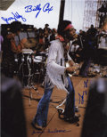 Music Memorabilia:Autographs and Signed Items, Jimi Hendrix's Gypsy Sun and Rainbow Band-Signed Photo....