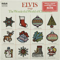 Music Memorabilia:Recordings, Elvis Sings The Wonderful World of Christmas Sealed LP (RCA4579, 1971)....
