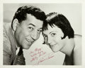 Movie/TV Memorabilia:Autographs and Signed Items, Keely Smith and Louis Prima Signed Photo. ...
