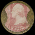 Encased Postage: , HB-30 EP-34a 3¢ Ayer's Sarsaparilla Extremely Fine....