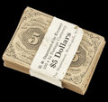 Fractional Currency:First Issue, Facsimile Fr. 1230 5c First Issue. Seventy-seven Examples. About New.... (Total: 77 notes)