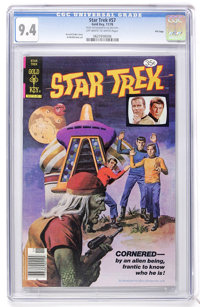 Star Trek #57 File Copy (Gold Key, 1978) CGC NM 9.4 Off-white to white pages