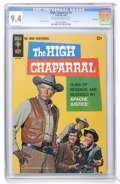 Silver Age (1956-1969):Western, High Chaparral #1 File Copy (Gold Key, 1968) CGC NM 9.4 Off-whiteto white pages....