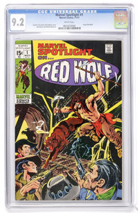 Marvel Spotlight #1 Red Wolf (Marvel, 1971) CGC NM- 9.2 White pages