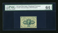 Fractional Currency:First Issue, Fr. 1240 10c First Issue PMG Choice Uncirculated 64 EPQ....