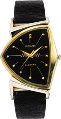 Timepieces:Wristwatch, Hamilton Men's Pacer Gold-Filled Wristwatch, circa 1958. ...