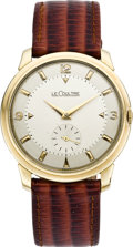Timepieces:Wristwatch, LeCoultre Men's New/Old Stock Vintage Wristwatch, circa 1950. ...