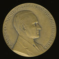 U.S. Presidents & Statesmen, (1929) Uniface Unofficial Coolidge Medal....