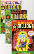 Bronze Age (1970-1979):Cartoon Character, Richie Rich Billions File Copy Group (Harvey, 1974-75) Condition:Average NM-.... (Total: 4 Comic Books)