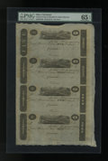 Obsoletes By State:Ohio, Cincinnati, OH- Unknown Issuer $5-$3-$2-$1 Post Notes 18__ UncutSheet. ...