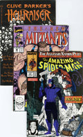 Modern Age (1980-Present):Miscellaneous, Marvel Modern Age Short Box Group (Marvel, 1982-90) Condition: Average NM....
