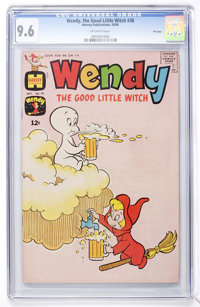 Wendy, the Good Little Witch #38 File Copy (Harvey, 1966) CGC NM+ 9.6 Off-white pages
