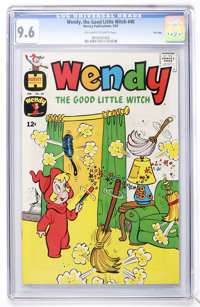 Wendy, the Good Little Witch #40 File Copy (Harvey, 1967) CGC NM+ 9.6 Off-white to white pages