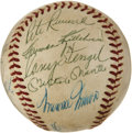 Autographs:Baseballs, 1959 American League All-Star Team Signed Baseball....