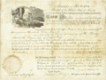 Autographs:U.S. Presidents, James Monroe Document Signed...