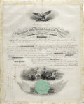 Autographs:U.S. Presidents, Abraham Lincoln Document Signed ...