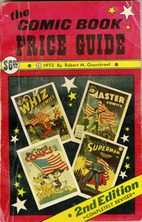 Overstreet Price Guide #2 Softcover (Overstreet, 1972) Condition: VG-