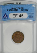 Civil War Patriotics, Patriotic Civil War Token Trio... (Total: 3 tokens)