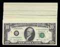 Small Size:Group Lots, $10, $20, $50 Federal Reserve Note Label Sets.. ... (Total: 44 notes)