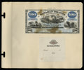 Large Size:Demand Notes, Hawaiian Islands $100 Silver Certificate (1879) Pick 4p Face andBack Proofs.... (Total: 2 notes)