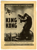 Memorabilia:Movie-Related, King Kong Magazine Advertisement (RKO Radio Pictures, 1933)....