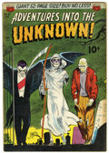 Golden Age (1938-1955):Horror, Adventures Into The Unknown #27 (ACG, 1952) Condition: FN....