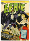 Golden Age (1938-1955):Horror, Eerie #7 (Avon, 1952) Condition: Apparent FN-....
