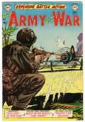 Golden Age (1938-1955):War, Our Army at War #16 (DC, 1953) Condition: VG/FN....