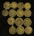 California Gold Charms, 14-Piece Lot of California Gold Charms.... (Total: 14 pieces)