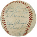 Autographs:Baseballs, 1952 Chicago White Sox Team Signed Baseball....