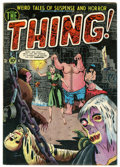 Golden Age (1938-1955):Horror, The Thing! #5 (Charlton, 1952) Condition: FN....