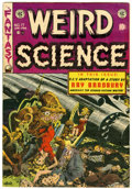 Golden Age (1938-1955):Science Fiction, Weird Science #17 (EC, 1953) Condition: FN....