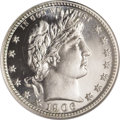 Proof Barber Quarters: , 1906 25C PR68 NGC. It would appear, based on NGC and PCGS census and population figures, that a fair number of 1906 proof q...