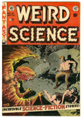 Golden Age (1938-1955):Science Fiction, Weird Science #21 (EC, 1953) Condition: VG/FN....