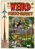 Golden Age (1938-1955):Science Fiction, Weird Science-Fantasy #25 (EC, 1954) Condition: FN....