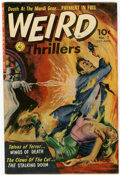 Golden Age (1938-1955):Horror, Weird Thrillers #5 (Ziff-Davis, 1952) Condition: VF....