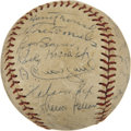 Autographs:Baseballs, 1953 Chicago White Sox Team Signed Baseball....