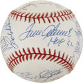 Autographs:Baseballs, 1997 Hall of Fame Induction Multi-Signed Baseball....