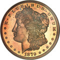 Patterns, 1879 $1 Morgan Dollar, Judd-1612, Pollock-1808, Low R.7, PR65 RedNGC....