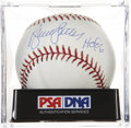 Autographs:Baseballs, Bruce Sutter Single Signed Baseball PSA Mint 9. ...